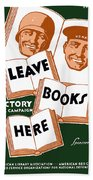 Victory Book Campaign - Wpa Beach Towel