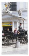 Vienna Horse And Carriage Beach Towel