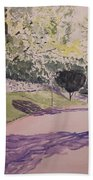 Vienna In Summer Beach Towel