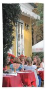 Vienna Restaurant In The Park Beach Towel