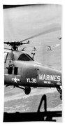 Vietnam War 1966 Beach Towel