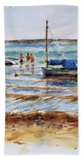 View Across Provincetown Harbor Beach Sheet