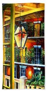 View From A French Quarter Balcony Beach Towel by Diane Millsap