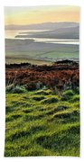 View From Grianan Fort Beach Towel