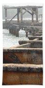 View From Hanamaulu Beach Towel