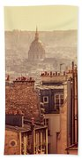 View From Montmartre Beach Towel