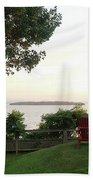 View From Ring Dang Doo South Hero Vermont Beach Towel