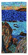 View From The Pacific Coast Highway Beach Towel
