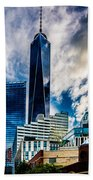 View From Tribeca Beach Towel