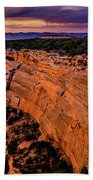 View From Upper Ute Canyon, Colorado National Monument Beach Towel