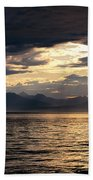 View Of Alaska Beach Towel