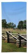 View Of Clover Hill Tavern Appomattox Court House Virginia Beach Towel