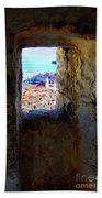 View Of Dubrovnik  Beach Towel