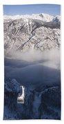 View Of Julian Alps From Vogel Mountain Beach Towel