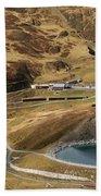View Of Kleine Scheidegg Beach Towel
