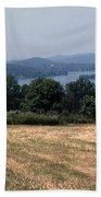 View Of Lake Waramaug Beach Towel