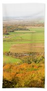 View Of Ottawa Valley In Autumn 13 Beach Towel