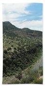 View Of Salt River Canyon Beach Towel
