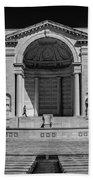 View  Of The Memorial Amphitheater At Arlington Cemetery  Beach Towel