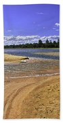 View Of Wollumboola Lake From Sand Dunes Beach Towel