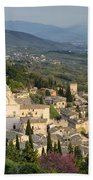 View Over Assisi Beach Towel