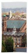 View Over Bristol With Bristol Grammar School Beach Towel