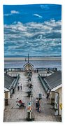 View Over The Pier Beach Towel