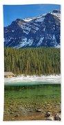 Views From Lake Louise Alberta  Beach Towel