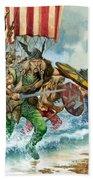 Vikings Beach Towel