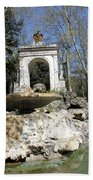 Villa Borghese River Beach Towel