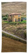 Villa In Tuscany, Italy Beach Towel