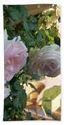 Villa Roses Beach Towel