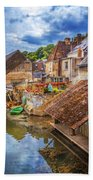 Village At The River Beach Towel