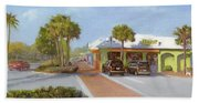 Village Cafe, Siesta Key Beach Towel