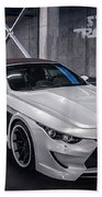 Vilner Bmw M6 E64 Stormtrooper 2014 Beach Towel