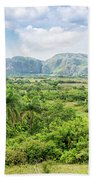 Vinales Valley Beach Towel