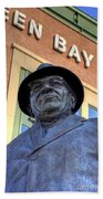 Vince Lombardi Beach Towel by Joel Witmeyer