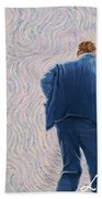 Vincent Coming Into The Light Beach Towel