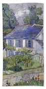Vincent Van Gogh, Houses At Auvers Beach Sheet