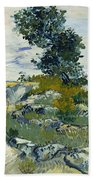 Vincent Van Gogh, The Rocks Beach Towel