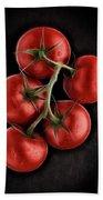 Vine Ripened Tomatoes. Beach Towel