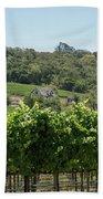 Vineyard In Sebastopol, Sonoma, California Beach Towel