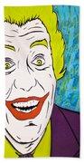 Vintage Cesar Romero's Joker Beach Towel