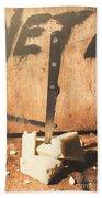 Vintage Cheese Crumble Beach Sheet