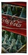Vintage Coca Cola 1 Beach Towel