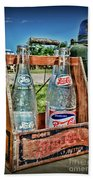 Vintage Double Dot Wooded Pepsi Carrier Beach Towel
