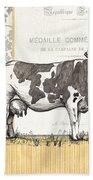 Vintage Farm 4 Beach Towel by Debbie DeWitt