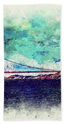 Vintage Golden Gate Beach Towel
