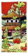 Vintage Japanese Art 7 Beach Towel