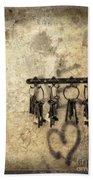 Vintage Keys Beach Towel